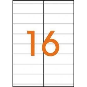 Etichete 16/A4 105x35mm Agipa 101126