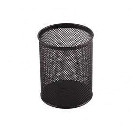 Suport instrumente de scris Office-Cover 802 plasa metalica cilindric negru