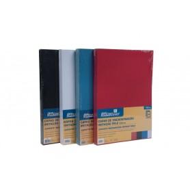 Coperta indosariere A4 carton imitatie piele Office-Cover LG-11 230g negru 100/top