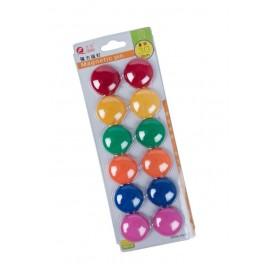 Magneti 30mm CNX 3012A diverse culori 12 bucati/set