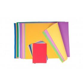 Accesorii creatie COLORARTE 839 hartie gumata A2 1mm 2x50x8.8 diverse culori 10/set
