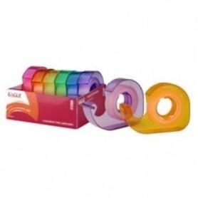 Dispenser banda adeziva mini EAGLE TY2040VM 2x13 mm 6 role/set