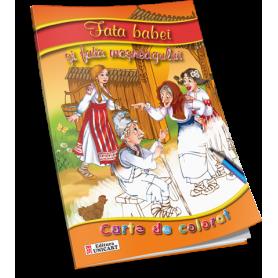 Carte de colorat A5 Unicart Fata babei