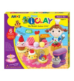 Plastilina AMOS iClay model Bakery Kit