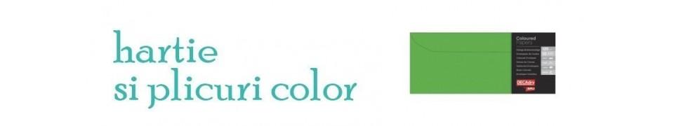 Hartie si plicuri color