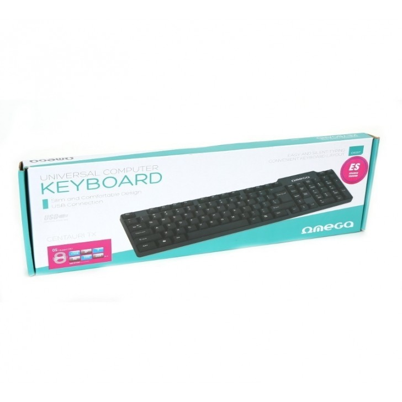 Tastatura OMEGA cu USB si microUSB OK05T 41829