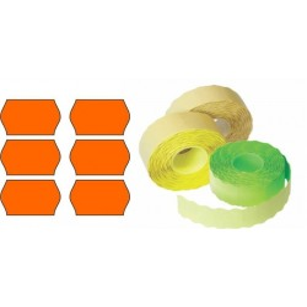 Etichete rola 26x12mm orange