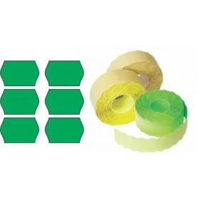 Etichete rola 26x16mm verde