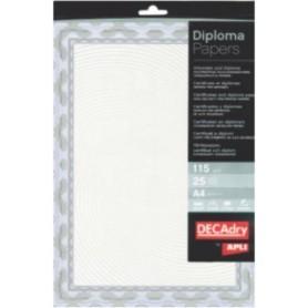 Hartie A4 Diploma albastru