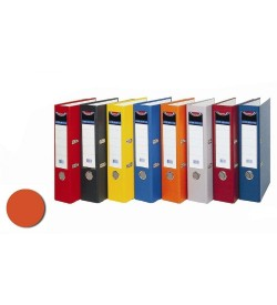 Biblioraft plastifiat 5cm orange