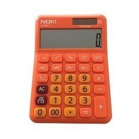 Calculator 12 digit NOKI H-CS001T portocaliu