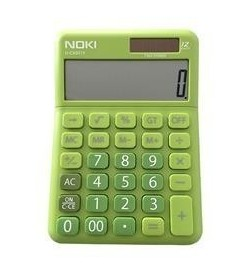 Calculator 12 digit NOKI H-CS001Y verde