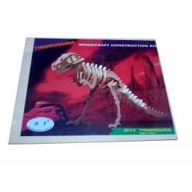 Puzzle lemn dinozaur J014-2