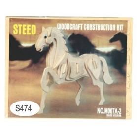 Puzzle lemn -S- cal M007A-2