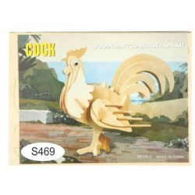Puzzle lemn -S- cocos M010A-2