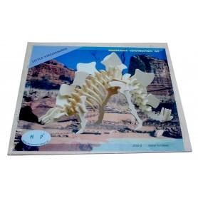 Puzzle lemn -S- dinozaur steg.J002-2