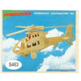Puzzle lemn -S- elicopter P007-2/ZZL11