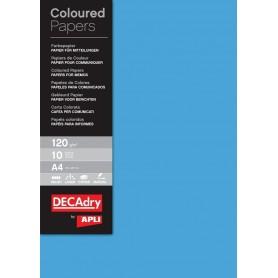Hartie A4 DECAdry albastru