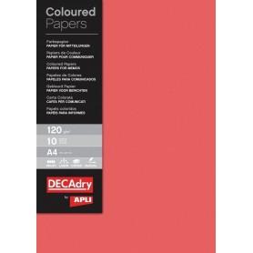 Hartie A4 DECAdry rosu