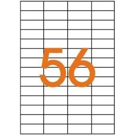 Etichete 56/A4 52,5x21,2mm Agipa 101115