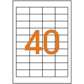 Etichete 40/A4 48,5x25,4mm Agipa 101114