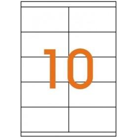 Etichete 10/A4 105x57mm Agipa 101134