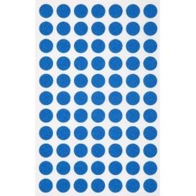 Etichete rotunde 77/A6 d. 8mm Agipa 111832 albastru