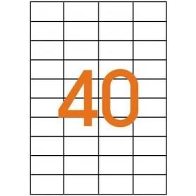 Etichete 40/A4 52,5x29,7mm Etibox 119769