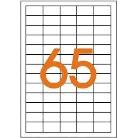 Etichete 65/A4 38x21,2mm Agipa 101113