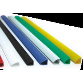 "Sina ""u"" plastic 4mm Office-Cover negru 100 bucati/set"