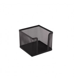 Suport cub hartie Office-Cover plasa metalica 10x10x8cm