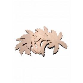 Accesorii creatie COLORARTE lemn: palmieri didactic 4 bucati/set