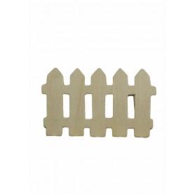 Accesorii creatie COLORARTE lemn: gard didactic 4 bucati/set