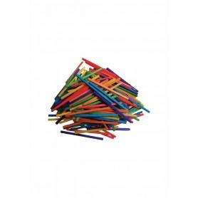 Accesorii creatie COLORARTE lemn betisoare mici chibrit diverse culori 150 bucati/set Didactic