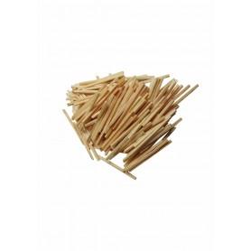 Accesorii creatie COLORARTE lemn betisoare mici chibrit natur 150 bucati/set Didactic