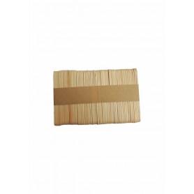 Accesorii creatie COLORARTE lemn betisoare natur 50 bucati/set 5.6cm Didactic