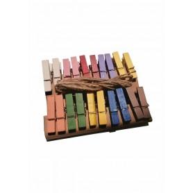 Accesorii creatie COLORARTE carlig colorat 20 bucati/set
