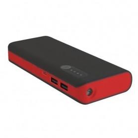 Acumulator PLATINET portabil 13.000mAh cu lanterna negru/rosu PMPB13BR 42899