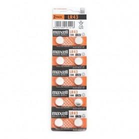 Baterie MAXELL LR43 2 bucati/blister PVC