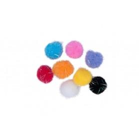 Accesorii creatie COLORARTE 3223-3 Pom-Pom mare o culoare