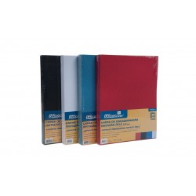 Coperta indosariere A4 carton imitatie piele Office-Cover LG-01 230g albastru 100/top