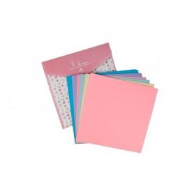 Hartie Origami CNX coli diverse culori 15x15cm 100 bucati/set