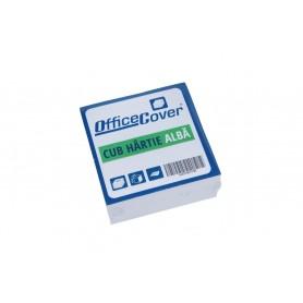 Cub hartie alb 9x9cm Office-Cover 500 coli