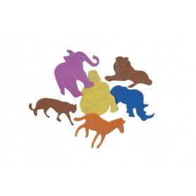 Accesorii creatie COLORARTE sticker buretat 3361 9g animale