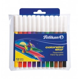 Carioca 12 culori PELIKAN 302 908806 Colorella Star