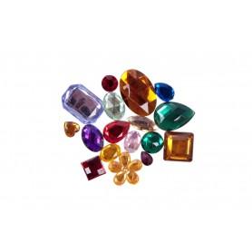 Accesorii creatie COLORARTE imitatii pietre pretioase (sticla) diverse modele