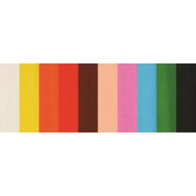 Hartie creponata 25x200 Fiorello 170-2300 10 role/set diverse culori