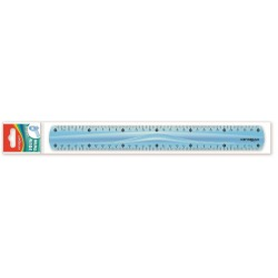 Rigla plastic 30cm KEYROAD KR970854-30 flexibila 1 bucata/blister