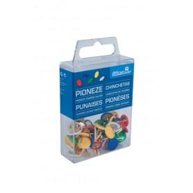 Pioneze Office-Cover RPIO50 diverse culori 50 bucati/cutie