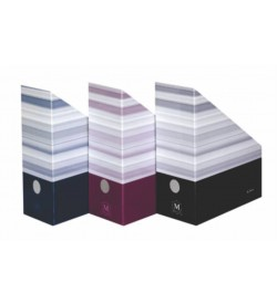 Suport document vertical MONTANA-HERLITZ 090 11cm carton negru